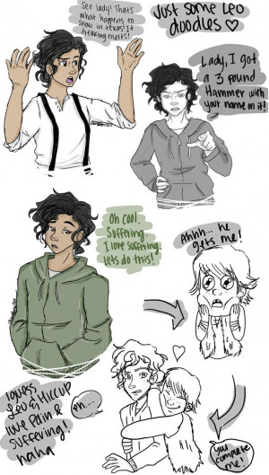 Leo Valdez and Hiccup....please tell me people aren't shipping this ...