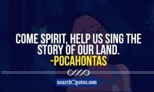 ... land pocahontas 111 up 31 down pocahontas quotes land quotes spirit