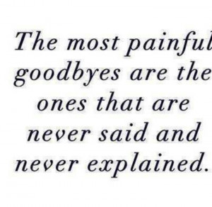 Sometimes you just have to walk away