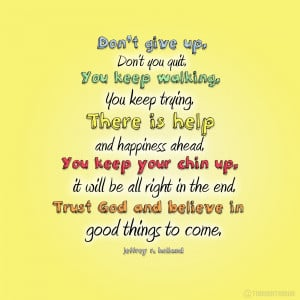 Good Things To Come (Quote)