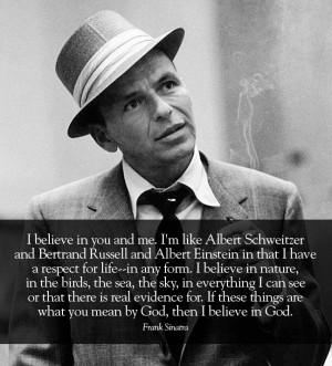 Frank Sinatra: Equality Nature, Quotes Sayings, God Equality, Frank ...