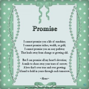 promise poems promise ring poems and quotes promise poems promise ...