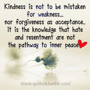 Kindness for Weakness Quotes
