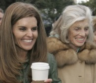 Shriver, left, and her mother, Eunice Kennedy Shriver in 2007. Eunice ...