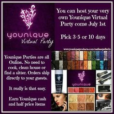 younique 3d younique products host earn free virtual parties ...
