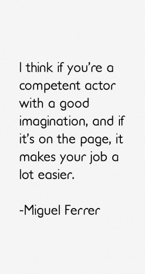 Miguel Ferrer Quotes & Sayings