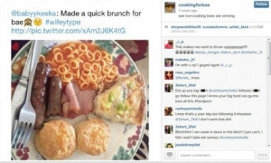 Top 12 Worst CookingForBae Instagram Meals
