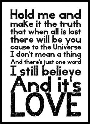 Love Boat Captain - Pearl Jam lyrics