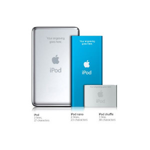Guide to iPod Engravings