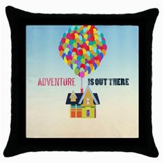 ... Throw Pillow Case Disney Pixar Up Inspirational Quotes on Etsy, $12.99