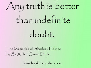 Sherlock Holmes Quotes HD Wallpaper 10