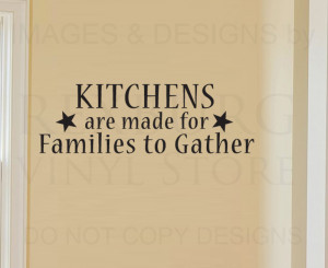 Wall-Decal-Quote-Sticker-Vinyl-Lettering-Graphic-Families-Gather ...