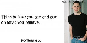 quotes reflections aphorisms - Quotes About Act - Think before you act ...