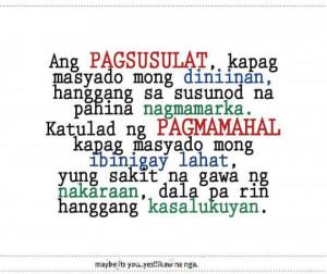 Pagmamahal Quotes