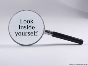 "Look inside yourself"""