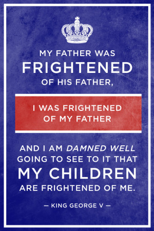 my father was frightened of his father i was frightened of my father ...