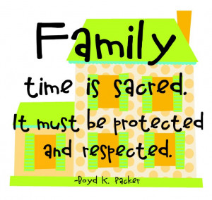 Family Boyd K Packer quote cwaters2012