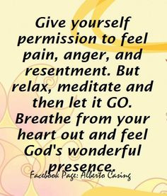 Quotes Letting Go Of Resentment ~ Resentment