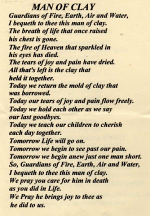 poems about death of a grandfather