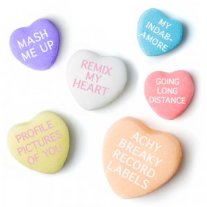 funny candy heart sayings