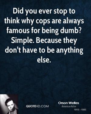 Cop Quotes