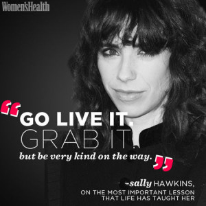 Sally Hawkins - nominated for Blue Jasmine