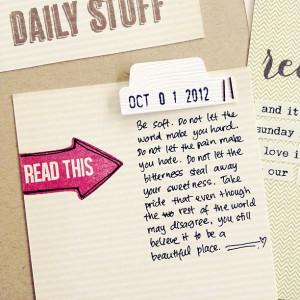 quotes #scrapbook #scrapbooking #projectlife #smashbook #stamps ...