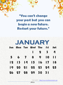 Monthly & Yearly Motivational Quotes Calendars for FREE