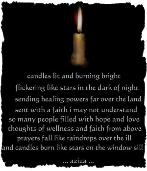 Wicca Spells | Healing – candles lit and burning bright ...