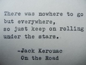 JACK KEROUAC Hand Typed Typewriter ️