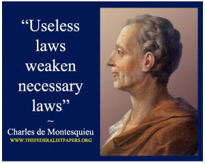 ... Disbelief in Separation of Powers Through the Eyes of Montesquieu
