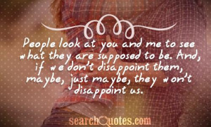 Disappointment Quotes about Relationships