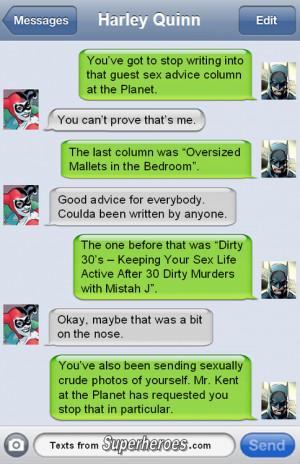 batman dc joker comics harley quinn dc comics TFSH Texts From ...
