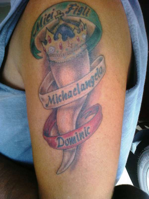 Italian Tattoos And Meanings Italian horn tattoo designs