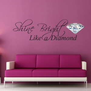 shine bright wall quote sticker £ 20 00 faved by bouf support about 2 ...