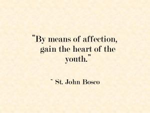 The Educational Philosophy of St John Bosco