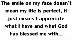 Feeling Blessed Quotes Secret of being happy quotes