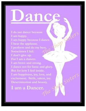 Dance Quotes For Inspiration Inspirational ballerina dancer