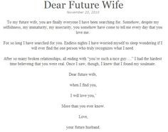 ... future wife perfect man perfect guys future god poignant quotes fav