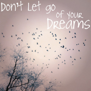 Don't Let Go Of Your Dreams