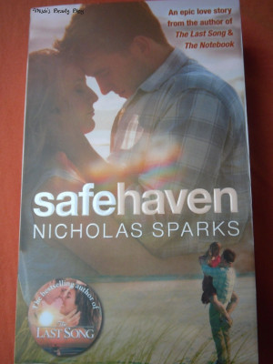 Nicholas Sparks Safe Haven quotes - 1. Silence is Holy It draws people ...
