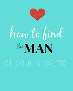 tired of running into Mr. Wrong and never finding Mr. Right? 4 simple ...