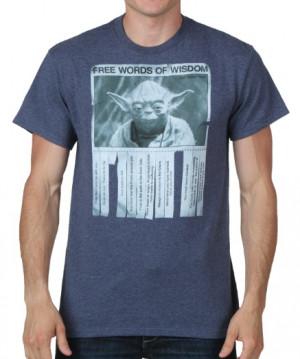 Yoda Words of Wisdom T-Shirt