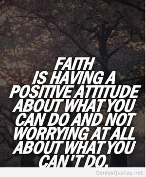 Faith amazing quote with image / Genius Quotes