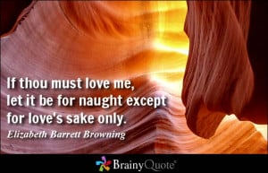Elizabeth Barrett Browning Quote