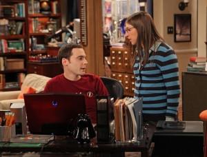 Sheldon and Amy in The Big Bang Theory. POST: The Big Bang Theory ...