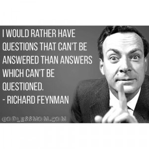 Richard Feynman on Science vs. Religion and Why Uncertainty Is Central ...