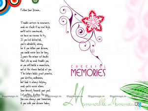 Memorable Memories Greetings And Wishes with Cute Massage and Sayings