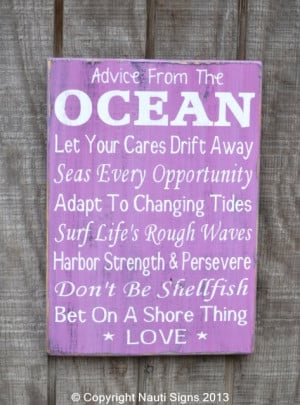 Beach Wedding, Beach Rules, Ocean Advice, Coral Decor, Love Quotes ...