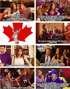 Canada references on How I Met Your Mother More